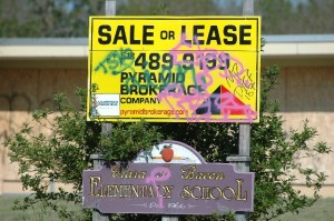 Pyramid Brokerage -- pride in real estate signage